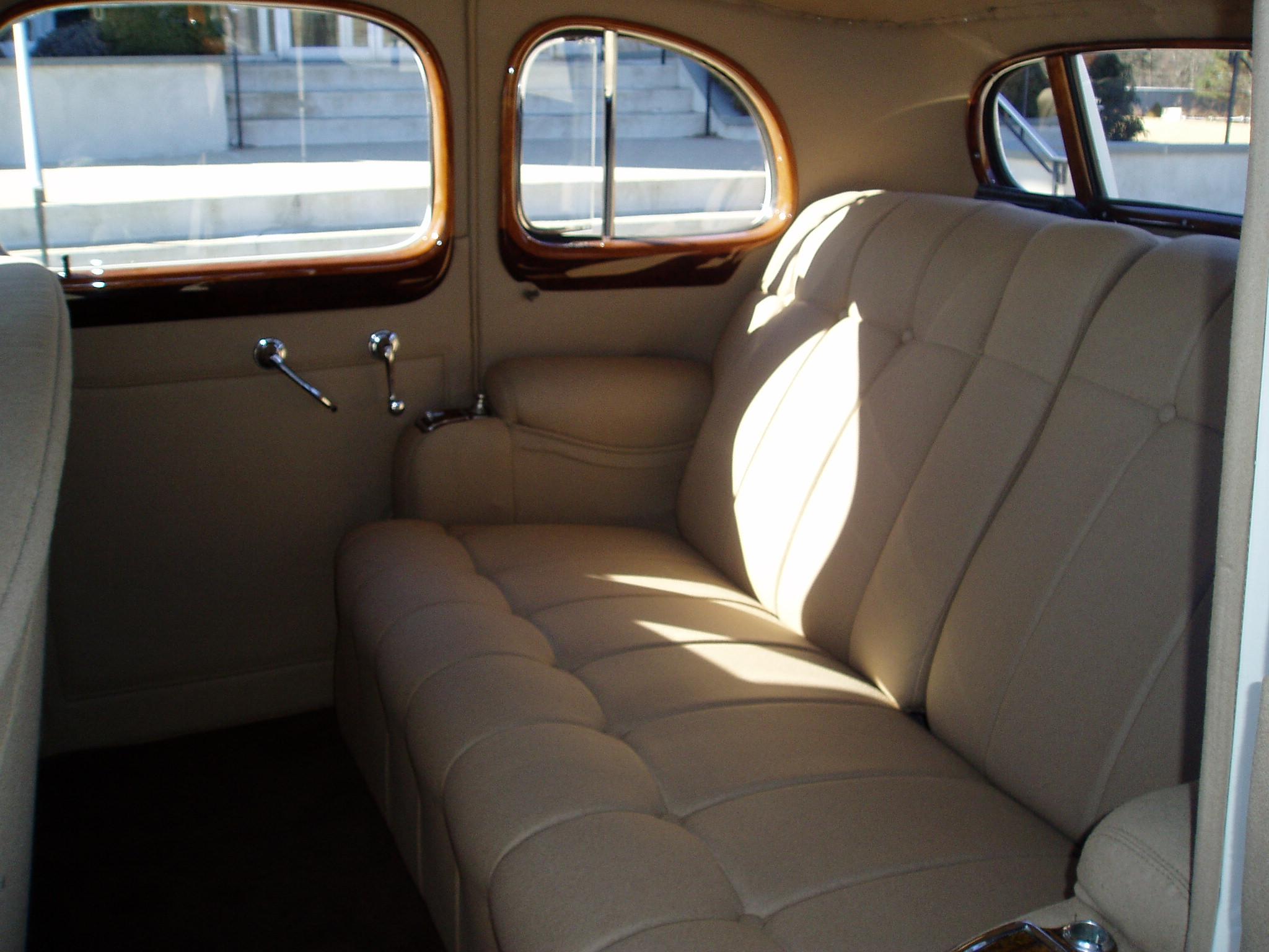 1937 Cadillac Interior